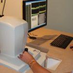 Mock-up oogwerkplek in oogziekenhuis door klachten