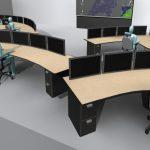 GUI videowall ontwerp voor controlecentrum